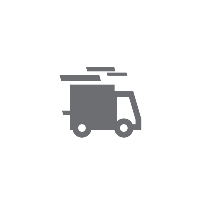 truck driving fast icon for 24 hr emergency service